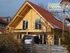 Balkon-Blockhaus