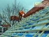 Blockhaus Dacheindeckung