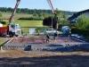 Energiesparbodenplatte betonieren