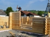 Holzzapfen im Blockhaus
