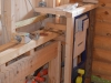 Vorbauwand aus Holz