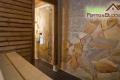 Sauna im Blockhaus
