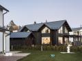 Blockhaus als Zweifamilienhaus