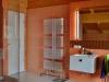 Sanitaereinrichtung im Blockhaus