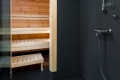 Moderne Sauna Blockhaus