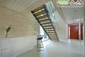 Treppe im Blockhaus