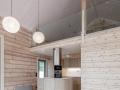 Blockhaus hochwertig