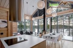 Interior für Blockhaus