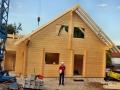 Fertigstellung des Blockhauses