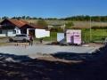 Thermobodenplatte für Blockhaus