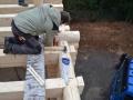 Blockhausbau von Profis