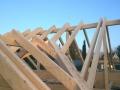 Dachstuhl errichten